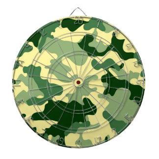 Dartboard verde de Camo