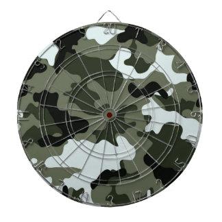 Dartboard. verde militar de Camo