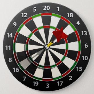Dartboard with dart button
