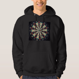 Dartboard With Dart In Bullseye, Hoodie