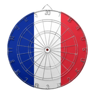 Dartboard with Flag of France