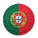 Dartboard with Flag of Portugal