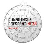 Cunnilingus  crescent  Dartboards