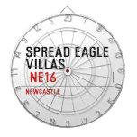spread eagle  villas   Dartboards