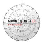 Mount Street  Dartboards
