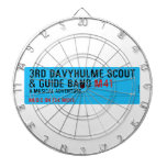 3rd Davyhulme Scout & Guide Band  Dartboards