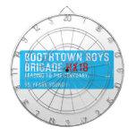 boothtown boys  brigade  Dartboards