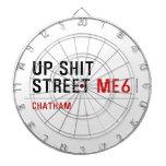 Up Shit Street  Dartboards