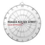 Kgauza Key Gee Street  Dartboards