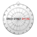 Grace street  Dartboards