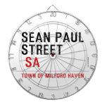 Sean paul STREET   Dartboards