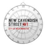 New Cavendish  Street  Dartboards