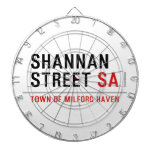 Shannan Street  Dartboards