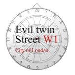 Evil twin Street  Dartboards