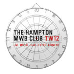the Hampton  MWB Club  Dartboards
