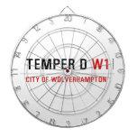 TEMPER D  Dartboards