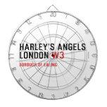 HARLEY'S ANGELS LONDON  Dartboards