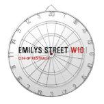 Emilys Street  Dartboards