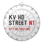 KV HD Street  Dartboards