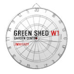 green shed  Dartboards