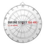 queens Street  Dartboards
