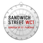 Sandwich Street  Dartboards