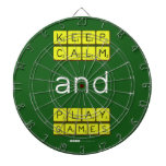 KEEP CALM and PLAY GAMES  Dartboards
