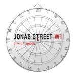 JONAS STREET  Dartboards