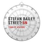 Stefan Bailey Street  Dartboards