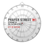 Prayer street  Dartboards