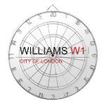 WILLIAMS  Dartboards