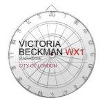 Victoria  Beckman  Dartboards