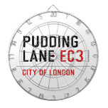 PUDDING LANE  Dartboards