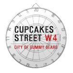 cupcakes Street  Dartboards