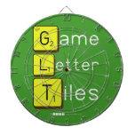 Game Letter Tiles  Dartboards