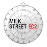 MILK  STREET  Dartboards