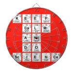 KEEP CALM AND DO SCIENCE  Dartboards