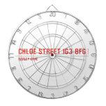 chloe Street  Dartboards