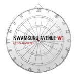 KwaMsunu Avenue  Dartboards