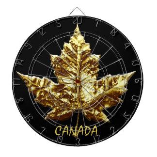 Dartboards del recuerdo de Canadá del oro del