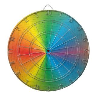 Dartboards multicolores de Rainbow> Tabla Dardos