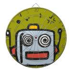 Dartbord funny robot dart board
