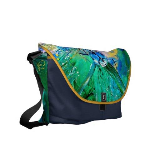 Darter Azul-Con alas Bolsas De Mensajería