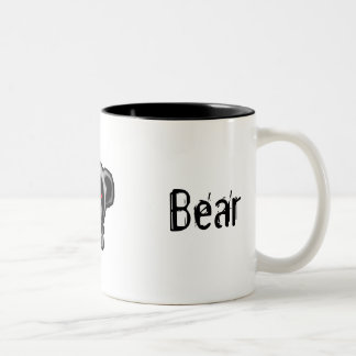 Darth Bear Two-Tone Coffee Mug