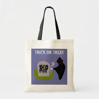 Darth in the Cemetery Halloween Trick or Treat Bag