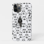 Darth Vader and Stormtrooper Crowd Pattern iPhone 11 Pro Case