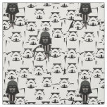 Darth Vader and Stormtrooper Crowd Pattern Fabric
