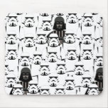 Darth Vader and Stormtrooper Crowd Pattern Mouse Pad