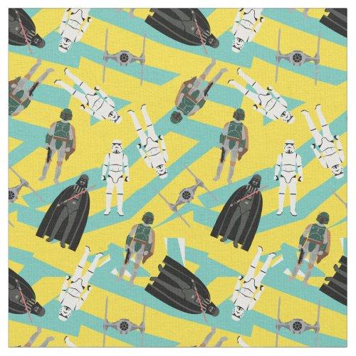Darth Vader Boba Fett  Stormtrooper Pattern Fabric