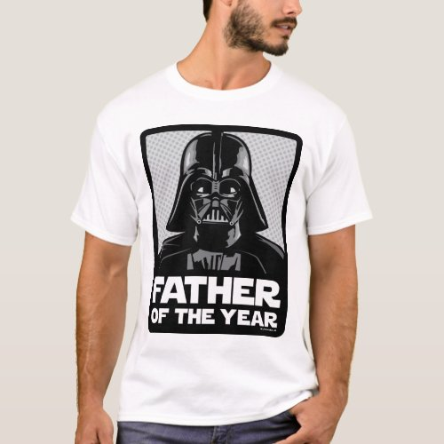 Darth Vader Comic  Father of the Year T_Shirt